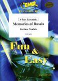Okładka: Naulais Jérôme, Memories of Russia - 4-Part Ensemble