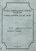 Ok�adka: Bauer Jerzy, Grudzie� Jacek, Polska Wsp�czesna Muzyka Gitarowa (EM 008)