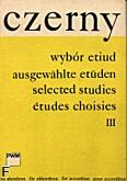 Okładka: Czerny Carl, Wybór etiud z. 3