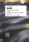 Okładka: Bach Johann Sebastian, Toccata i fuga d-moll