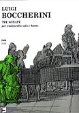 Okładka: Boccherini Luigi Rodolpho, Tre sonate