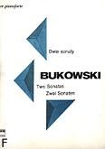 Okładka: Bukowski Ryszard, Dwie sonaty