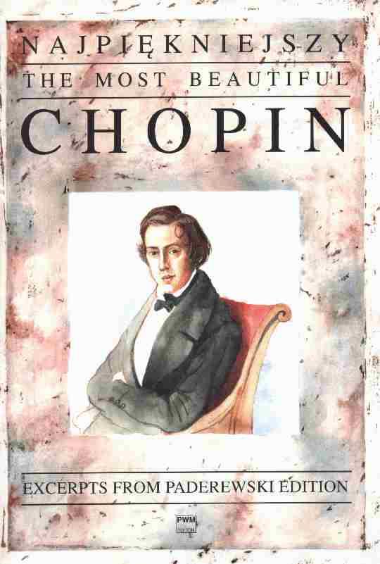 Okładka: Chopin Fryderyk, Najpiękniejszy Chopin