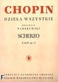Okładka: Chopin Fryderyk, Scherzo b-moll op. 31
