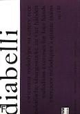 Okładka: Diabelli Antonio, Ćwiczenia melodyjne na cztery ręce op. 149