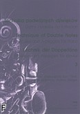 Okładka: Drzewiecki Zbigniew, Ekier Jan, Hoffman Jan, Riege, Gamy i pasaże z. 3 (Technika podwójnych dźwięków)