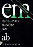 Okładka: , Encyklopedia muzyczna PWM t.1 - suplement