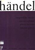 Ok�adka: H�ndel George Friedrich, Utwory wybrane