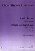 Okładka: Hummel Johann Nepomuk, Rondo Es-dur, op. 11