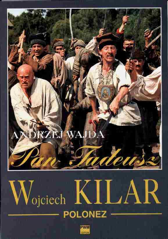 Okładka: Kilar Wojciech, Polonez z filmu