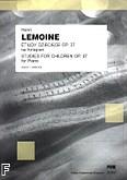 Okładka: Lemoine Antoine-Henry, Etiudy dziecięce, op. 37, wybór