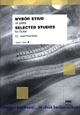 Ok�adka: Powro�niak J�zef, Wyb�r etiud na gitar� / Selected studies for guitar