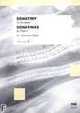 Okładka: Raube Stanisława, Sonatiny na fortepian z. 1