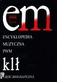 Okładka: , Encyklopedia muzyczna PWM t.5 - klł