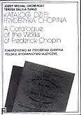 Okładka: Chomiński Józef Michał, Katalog dzieł Chopina
