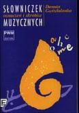 Okładka: Gwizdalanka Danuta, Słowniczek oznaczeń i skrótów muzycznych