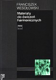 Okładka: Wesołowski Franciszek, Materiały do ćwiczeń harmonicznych
