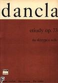 Ok�adka: Dancla Charles, Etiudy op. 73