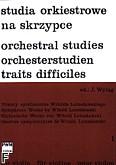 Okładka: Wyląg Janusz, Studia orkiestrowe na skrzypce Utwory symfoniczne Witolda Lutosławskiego