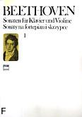 Okładka: Beethoven Ludwig van, Sonaty z. 1