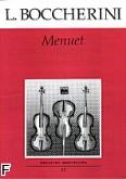 Okładka: Boccherini Luigi Rodolpho, Menuet
