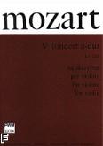 Okładka: Mozart Wolfgang Amadeusz, V Koncert A-dur KV 219 na skrzypce i orkiestrę