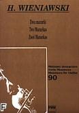 Ok�adka: Wieniawski Henryk, Dwa mazurki op. 12 nr 1 i 2