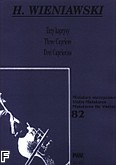 Okładka: Wieniawski Henryk, Trzy kaprysy