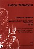 Ok�adka: Wieniawski Henryk, Fantaisie brillante na tematy z opery