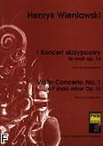 Ok�adka: Wieniawski Henryk, I Koncert skrzypcowy fis-moll op. 14