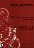 Okładka: Wieniawski Henryk, II Koncert skrzypcowy d-moll op. 22