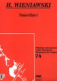 Ok�adka: Wieniawski Henryk, Polonaise brillante A-dur