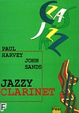 Ok�adka: Harvey Paul, Sands John, Jazzy clarinet