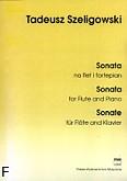 Okładka: Szeligowski Tadeusz, Sonata na flet i fortepian
