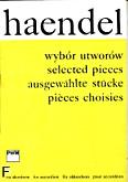 Okładka: Händel George Friedrich, Wybór utworów na akordeon