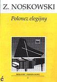 Okładka: Noskowski Zygmunt, Polonez elegijny