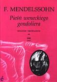 Ok�adka: Mendelssohn-Bartholdy Feliks, Pie�� weneckiego gondoliera op. 30 nr 6