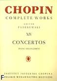 Okładka: Chopin Fryderyk, Concertos CW XIV (piano arrangement)