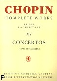 Ok�adka: Chopin Fryderyk, Concertos CW XIV (piano arrangement)