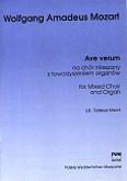 Okładka: Mozart Wolfgang Amadeusz, Ave verum