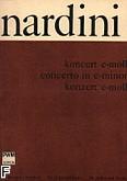 Okładka: Nardini Pietro, Koncert e-moll na skrzypce i fortepian