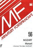 Ok�adka: Mozart Wolfgang Amadeusz, Menuet z serenady Eine kleine Nachtmusik
