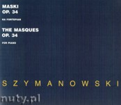 Okładka: Szymanowski Karol, Maski op. 34