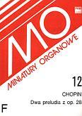 Okładka: Chopin Fryderyk, 2 preludia z op. 28