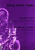 Okładka: Vogler Georg Joseph, Koncert C-dur na fortepian i zespół smyczkowy (wyciąg fortepianowy)