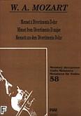 Okładka: Mozart Wolfgang Amadeusz, Menuet z Divertimento D-dur