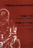 Ok�adka: Mozart Wolfgang Amadeusz, Adagio E-dur KV 261