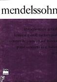 Okładka: Mendelssohn-Bartholdy Feliks, Koncert fortepianowy g-moll, op. 25
