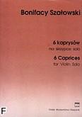 Ok�adka: Sza�owski Bonifacy, 6 kaprys�w