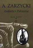 Okładka: Zarzycki Aleksander, Andante i Polonez op. 23